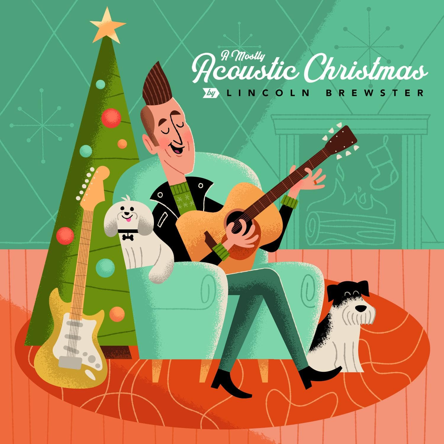 A Mostly Acoustic Christmas - Lincoln Brewster